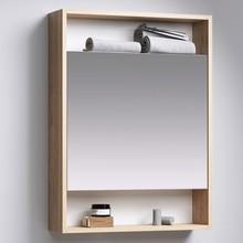 Зеркало-шкаф Aqwella City 60 дуб балтийский