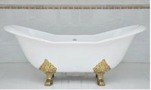 Чугунная ванна Magliezza Julietta 183x78 (ножки золото)