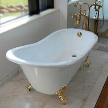 Чугунная ванна Magliezza Gracia 170x76 (ножки бронза)