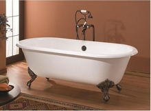 Чугунная ванна Magliezza Patricia 168x76.5 (ножки бронза)