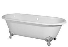 Чугунная ванна Magliezza Patricia 168x76.5 (ножки хром)