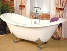 Чугунная ванна Magliezza Julietta 183x78 (ножки бронза)