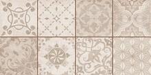 Декор Ceramica Classic Bastion Мозаика бежевый 20х40 с пропилами