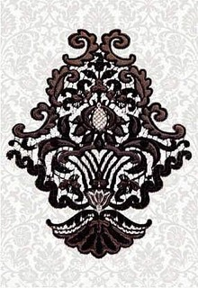 Декор Керамин Органза 5Д